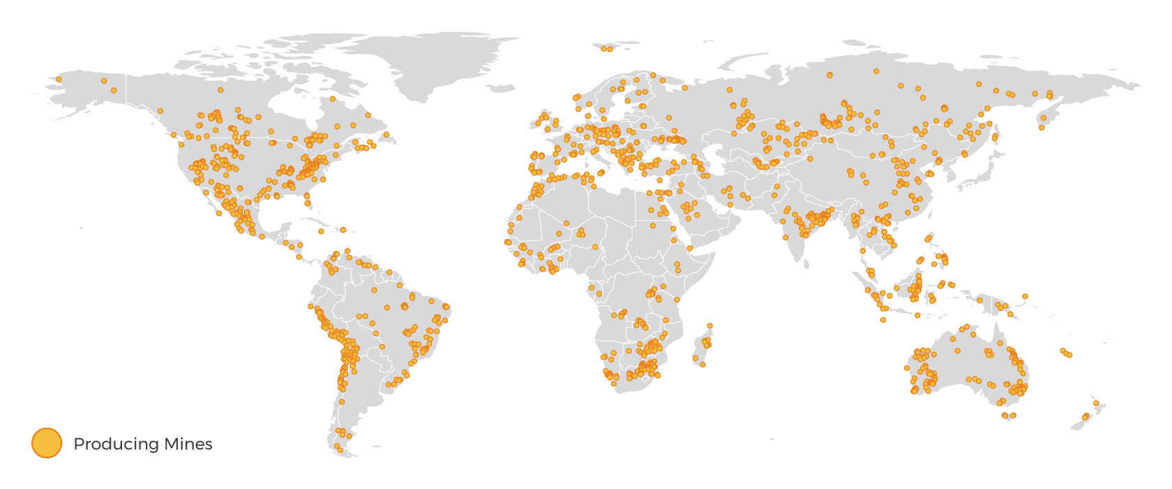 Global Producing Mines
